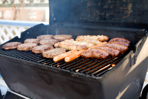 Hot Dog「BBQ goodness in the summer!」:スマホ壁紙(1)