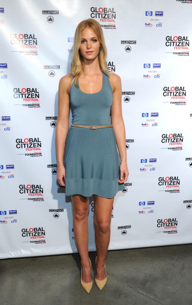 Erin Heatherton「The Global Poverty Project 2013 Global Citizen Festival Announcement Celebration」:写真・画像(4)[壁紙.com]