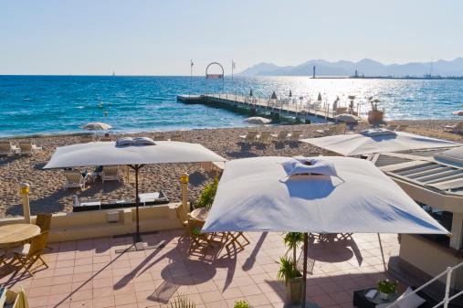 Cannes「La Croisette Beach, Cannes, Cote D'Azur, France」:スマホ壁紙(8)