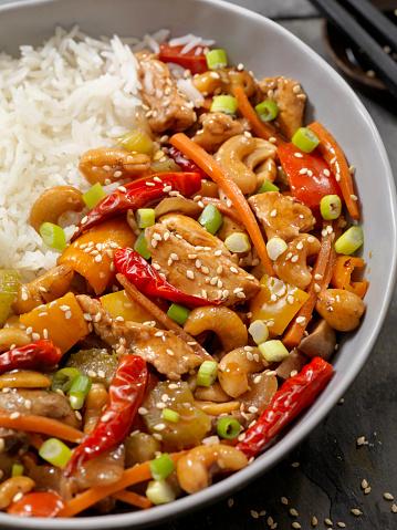 Kung Pao Chicken「Kung Pau Cashew Chicken with Rice」:スマホ壁紙(12)