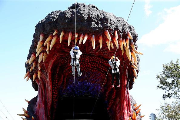Godzilla「Japanese Theme Park Unveils 'Life-size' Godzilla」:写真・画像(9)[壁紙.com]