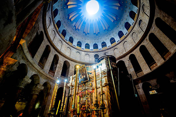 Church of the Holy Sepulchre in Jerusalem:スマホ壁紙(壁紙.com)