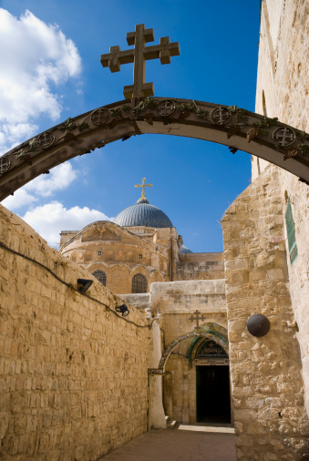 Spirituality「Church of the Holy Sepulchre in Jerusalem」:スマホ壁紙(5)