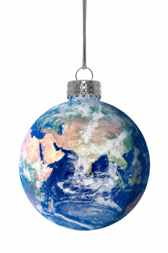 Symbols Of Peace「Christmas Earth Ornament」:スマホ壁紙(19)