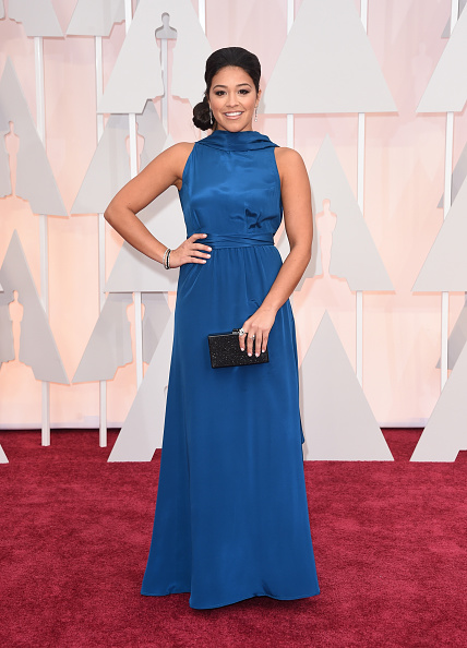 Drop Earring「87th Annual Academy Awards - Arrivals」:写真・画像(17)[壁紙.com]