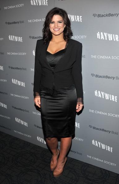 "Gina Carano「The Cinema Society & BlackBerry Bold Host A Screening Of ""Haywire"" - Arrivals」:写真・画像(9)[壁紙.com]"
