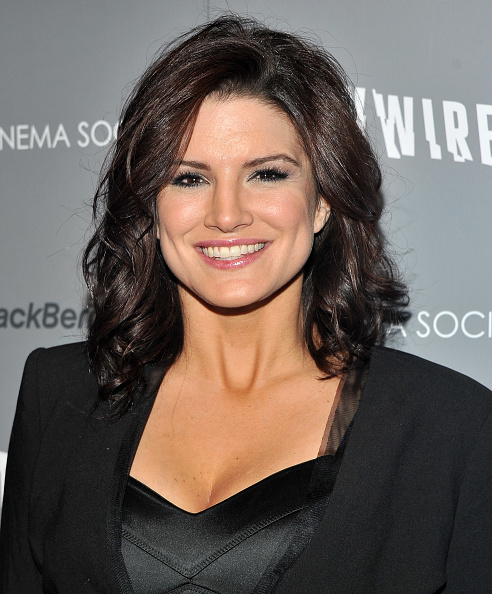 "Gina Carano「The Cinema Society & BlackBerry Bold Host A Screening Of ""Haywire"" - Arrivals」:写真・画像(7)[壁紙.com]"