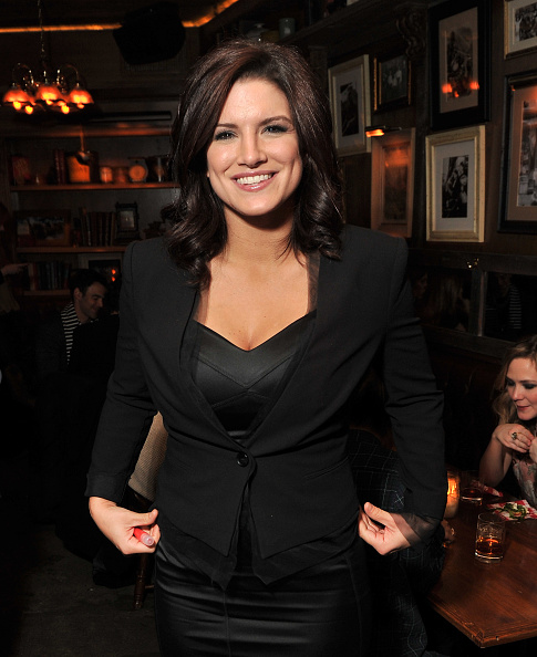"""Gina Carano「The Cinema Society & BlackBerry Bold Host A Screening Of """"Haywire"""" - After Party」:写真・画像(17)[壁紙.com]"""