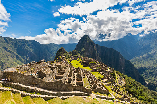 Mt Huayna Picchu「Peru, Andes, Urubamba Valley, Machu Picchu with mountain Huayna Picchu」:スマホ壁紙(17)