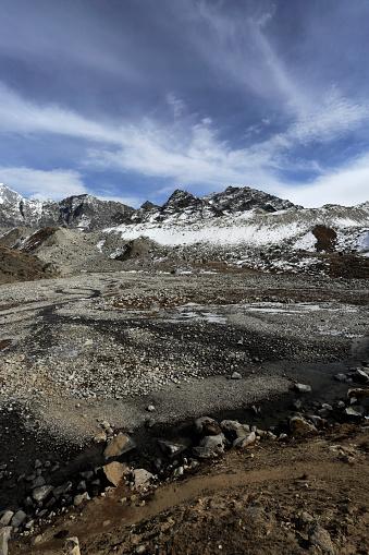 Khumbu「Mehra Peak mountain, Everest base camp trek,」:スマホ壁紙(11)