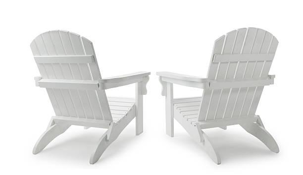 Two Adirondack Chairs:スマホ壁紙(壁紙.com)