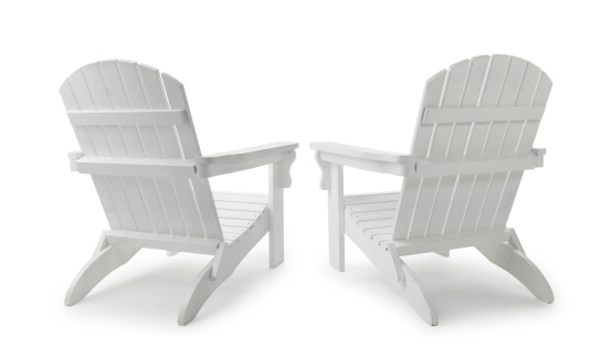 Two Objects「Two Adirondack Chairs」:スマホ壁紙(1)
