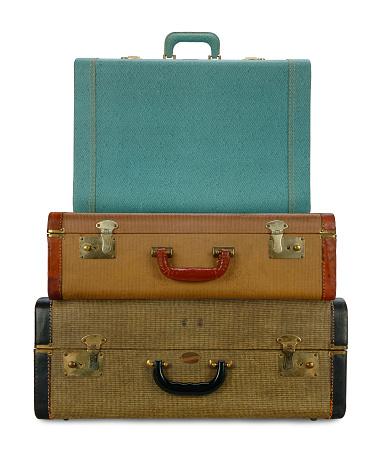 旅行「ビンテージお荷物」:スマホ壁紙(2)