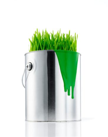 Digital Composite「Green Paint Can」:スマホ壁紙(3)