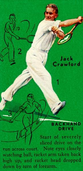 スポーツ用品「Jack Crawford - Backhand Drive」:写真・画像(18)[壁紙.com]