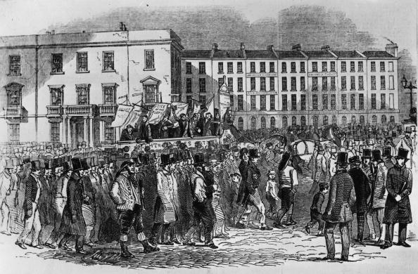 1840-1849「Labour Demonstration」:写真・画像(2)[壁紙.com]