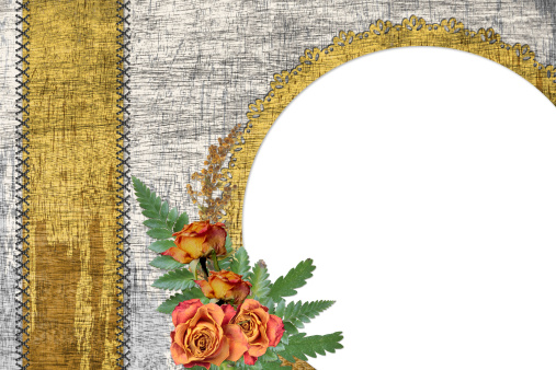 Cross-Stitch「Abstract background with frame」:スマホ壁紙(9)