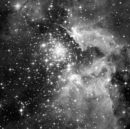 天の川「つ星」:スマホ壁紙(17)