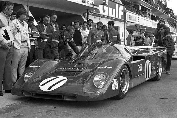 Racecar「Mark Donohue, 24 Hours of Le Mans」:写真・画像(8)[壁紙.com]