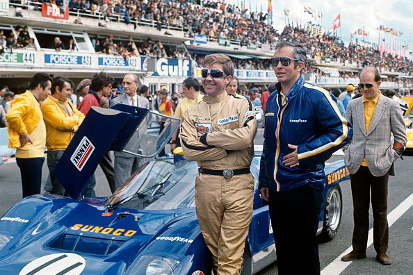 Auto Racing「Donohue, Penske, 24 Hours of Le Mans」:写真・画像(9)[壁紙.com]