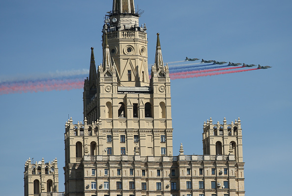 Russian Military「Moscow Prepares For WW2 Victory 70th Anniversary Celebration」:写真・画像(13)[壁紙.com]