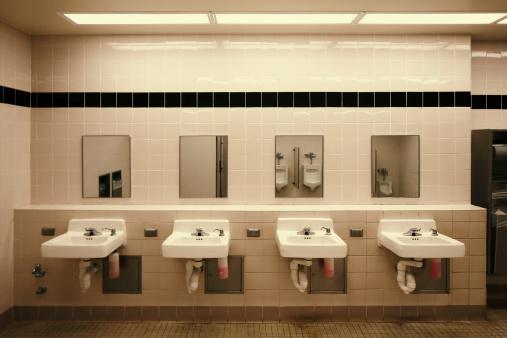 スイセン「公衆トイレ」:スマホ壁紙(2)