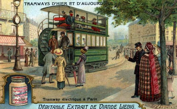 Transportation「Electric tram in Paris, France」:写真・画像(16)[壁紙.com]
