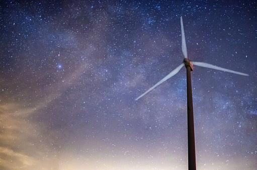 天の川「lactea 風車天の川銀河宇宙タービン世代を介してクロスします。」:スマホ壁紙(18)