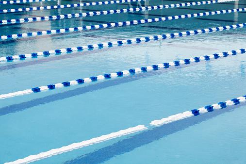 プール「Lanes in swimming pool」:スマホ壁紙(18)