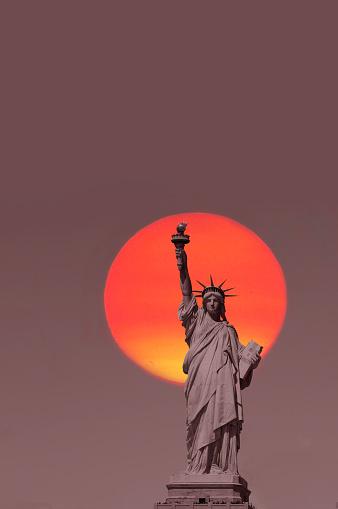 Female Likeness「View of Liberty.」:スマホ壁紙(9)