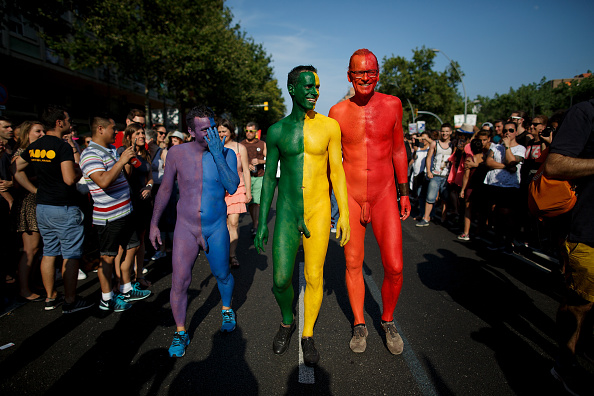 LGBTQIA Pride Event「Gay Pride Celebrated In Barcelona」:写真・画像(14)[壁紙.com]