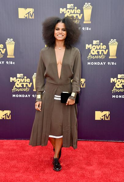 Zazie Beetz「2018 MTV Movie And TV Awards - Arrivals」:写真・画像(1)[壁紙.com]