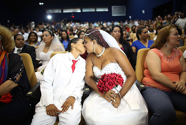 World's Largest Communal Gay Wedding Ceremony Held In Rio:ニュース(壁紙.com)