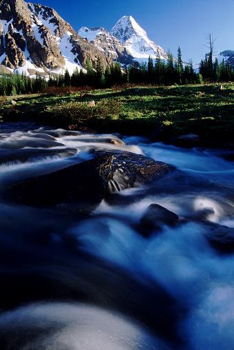 Mt Assiniboine「Stream in Alberta Canada」:スマホ壁紙(17)