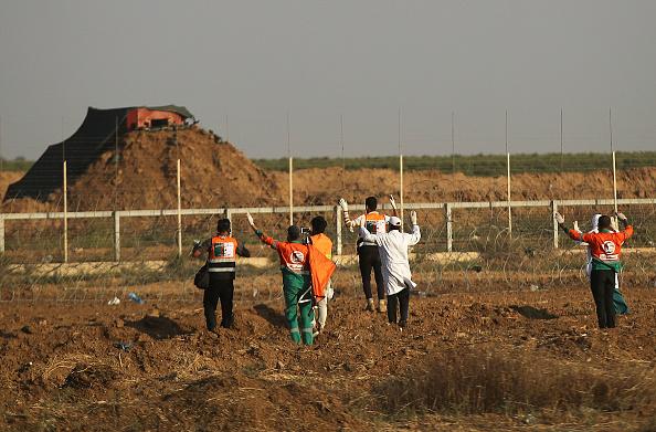 Gaza Strip「Funerals Held For Nearly 60 Palestinians Killed In Violence On Israeli Border」:写真・画像(12)[壁紙.com]