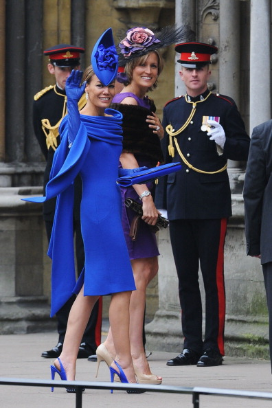 Fascinator「Royal Wedding - Wedding Guests And Party Make Their Way To Westminster Abbey」:写真・画像(2)[壁紙.com]