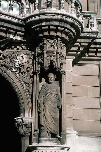 Carl Court「Sculpture at Inns of Court」:スマホ壁紙(3)