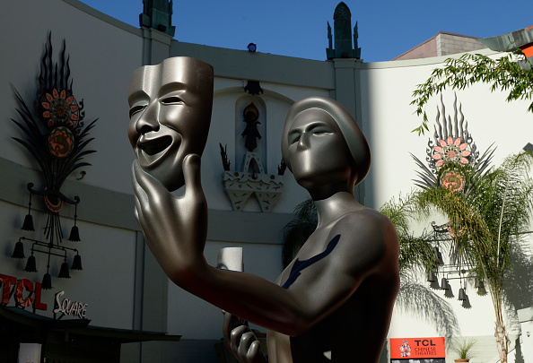 Preparation「The 22nd Annual Screen Actors Guild Awards - SAG Awards Actor To Visit Hollywood's TCL Chinese Theatre」:写真・画像(5)[壁紙.com]