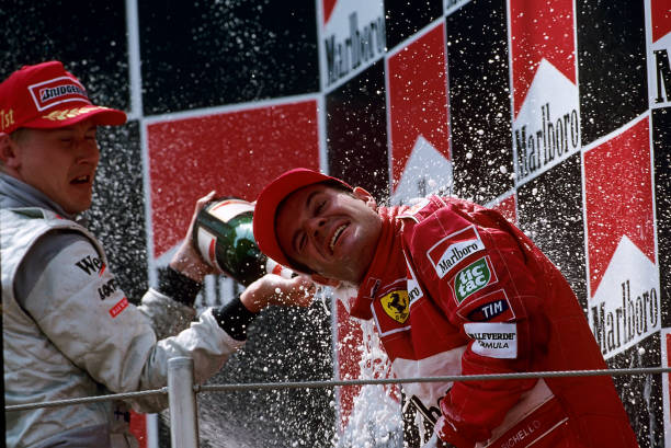 ミカ ハッキネン「Rubens Barrichello, Mika Hakkinen, Grand Prix Of Spain」:写真・画像(18)[壁紙.com]