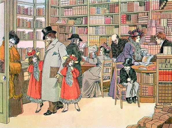 Shelf「The Book Shop 1899」:写真・画像(12)[壁紙.com]
