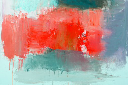 Art「Abstract painted red and green art backgrounds」:スマホ壁紙(12)