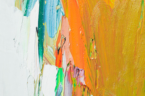 Color Block「Abstract painted yellow art backgrounds.」:スマホ壁紙(18)