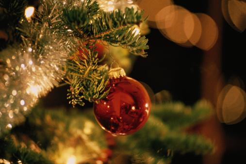 Branch - Plant Part「Bauble on Christmas Tree」:スマホ壁紙(11)