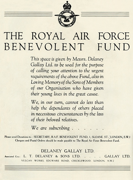 Making Money「The Royal Air Force Benevolent Fund」:写真・画像(4)[壁紙.com]