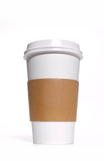 Take Out Food「Disposable coffee/tea cup with heat protector」:スマホ壁紙(2)