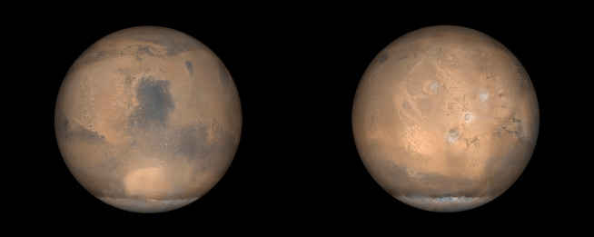 Solar System「Global Views of Mars in late Northern Summer.」:スマホ壁紙(9)