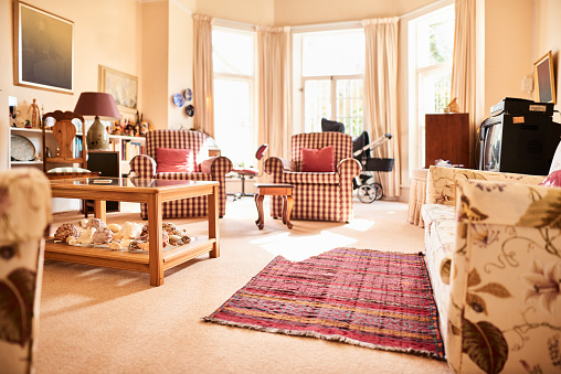 Real Life「Assortment of furniture and decor in the living room of a home」:スマホ壁紙(6)
