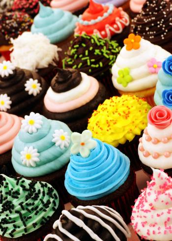 Cupcake「Assortment of Cupcakes」:スマホ壁紙(5)