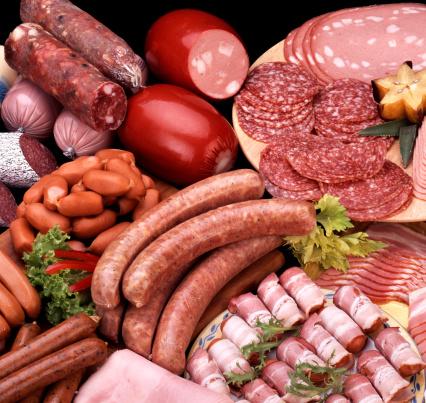 Delicatessen「Assortment of cold meats」:スマホ壁紙(9)