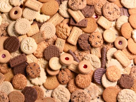 Cookie「Assortment of cookies, full frame」:スマホ壁紙(5)